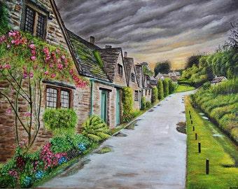 Ireland original oil painting
