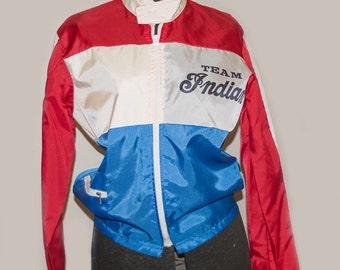 Vintage 1970's Indian Motorcycle Team race Jacket