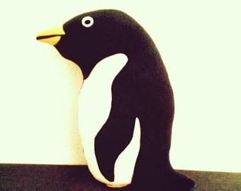 POLLY the Penguin KITTY GRAM Plush Penguin Fundraiser 100% Profits to Animals, Penguin, Stuffed Animal, Penguin Plushie, Penguin Pillow