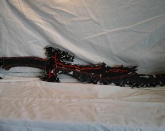 Skyrim Inspired Daedric Sword