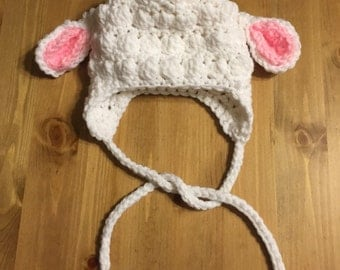 Easter/Spring Lamb Hat