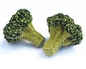 Crochet Broccoli (1pc) - Play Food - Teething Toy