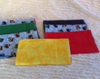 Infant Boy Burp Cloth Gift Set