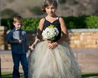 Beautiful Bohemian Flower Girl Dress