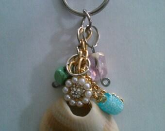 Sea Shell Keychain