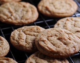 Chewy Peanut Butter Cookies Dozen/Gavor/snack