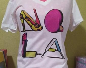 New Orleans Makeup T-Shirt