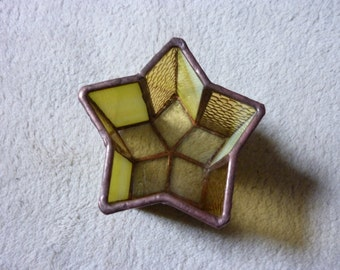 candle holder.star shape box.