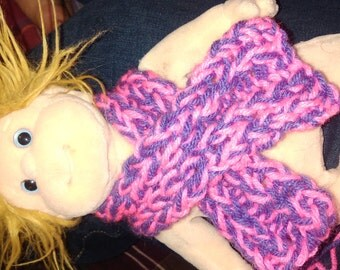 Hand Knitted Babydoll Scarf