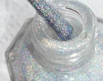 Cosmic. Holographic Top Coat Indie Nail Polish