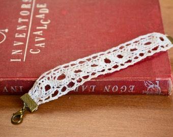 White Lace Bracelet