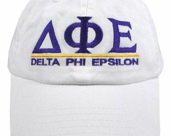 Delta Phi Epsilon Line Hat
