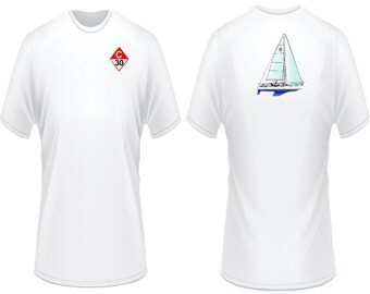 Catalina 30 Sailboat T-Shirt