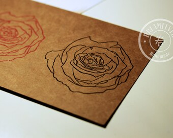 Handmade card - Rose 1