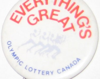 BUTTON: Olympic Lottery Canada