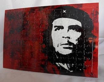 Che Guevara jigsaw puzzle,che puzzle,che,Ernesto Guevara puzzle,jigsaw puzzle,art jigsaw puzzle,vintage art