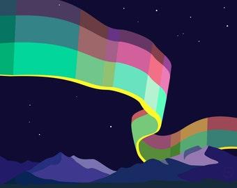 Art Print – Aurora Polaris