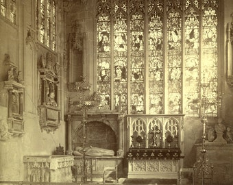 Vintage Photograph of Holy Trinity Church-Shakespeare's Burial Place-Stratford England