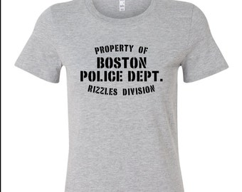 Property of Boston Police Dept. Rizzles Div. Women's T-Shirt