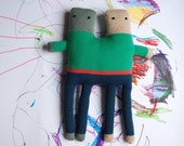 Knitted Stuffed Toy - MR. & MR.