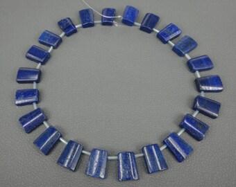 12*18mm Fashion Jewelry Natural Lapis Lazuli Pendant--22pcs per line