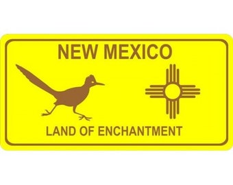 New Mexico Land Of Enchantment Photo License Plate - LPO1228