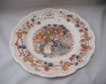 Brambly Hedge Autumn Plate