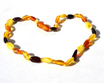 Amber Children Necklace Boy Girl Amber Jewelry Amber Baby Gift Natural Baltic Amber Toddler Necklace