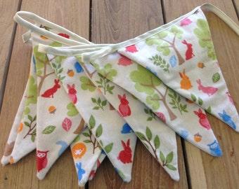 Nursery Bunting- Woodland Cuties
