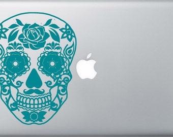 Senor Sugar Skull MacBook/PC Decal
