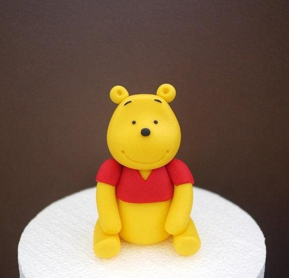 fondant cake winnie the pooh