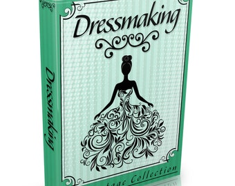 113 Dressmaking Books Vintage on DVD Sewing Needlework Tailoring Womens Clothes