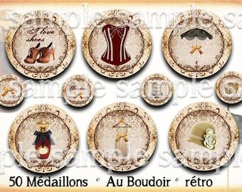 digital images * fashion Vintage * paris shoe umbrella Hat beige collage corset perfume digital scrapbooking cabochon jewel