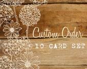 Card Chic by CJ Photo Notecard Set