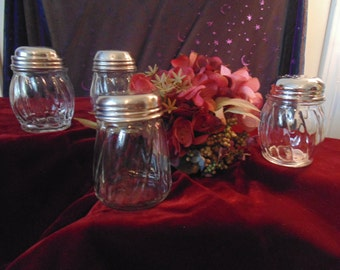 Vintage Glass Shakers