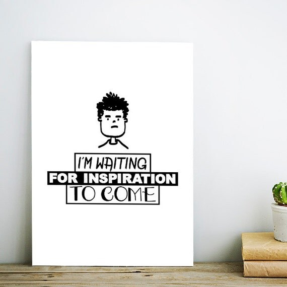 Items Similar To I'm Waiting Inspiration, Character