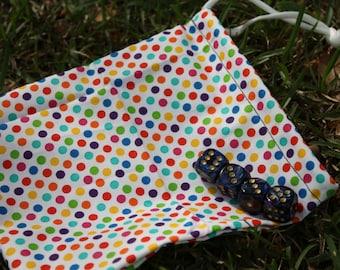 Polka Dot Dice Bag