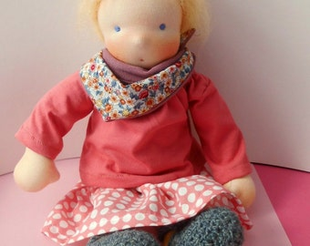 Waldorf doll Emma 32 cm READY TO GO