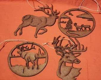 Wildlife ornaments