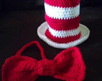 Cat in the Hat (Hat and Bow Tie)