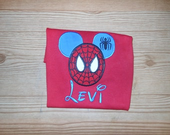 Spiderman Mouse Shirt