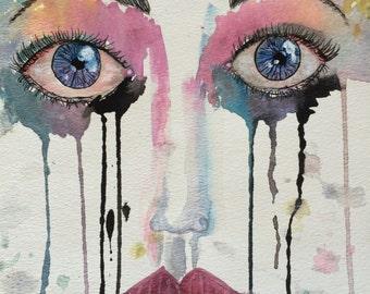 The eyes print