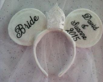 Disney Inspired Bride Ears
