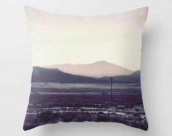 Mountain pillow, mountain cushion, pink pillow, pink cushion, pink decor, throw pillow, pink scatter cushion, pillow cover, cushion cover