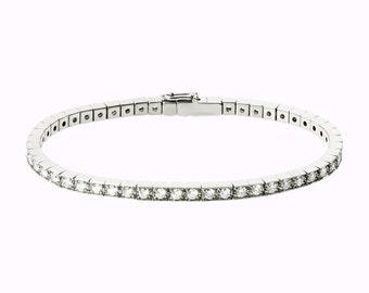 14K Gold Diamond Bracelet