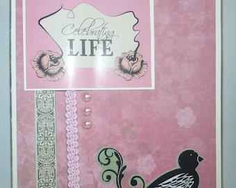 Celebrating Life Card 1024