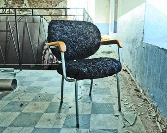 Black Sheep, industrial chair