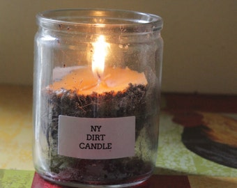 NY DIRT CANDLE (votive)