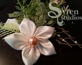 Ornate Mermaid Pearl Hair Clip
