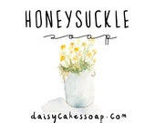 Honeysuckle, a Handmade Vegan Soap with Shea Butter and Olive Oil